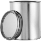 1 Pint Metal Paint Can with Lid, Unlined