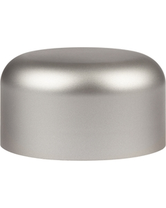 53mm 53-400 Silver Smooth Child Resistant Cap (Unprinted), Unlined