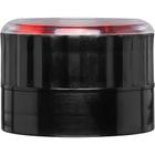 53mm 53-485 Black Dial Adjustable Spice Grinder Cap, Unlined