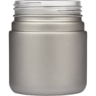 4 oz. Silver Straight Sided Glass Jar, Thick Wall, 53mm 53-400