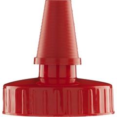 38mm Hi Flow Red Spout Cap, Unlined
