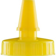 38mm Hi Flow Yellow Spout Cap, Unlined