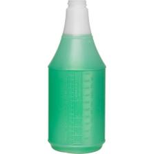 24 oz. Natural HDPE Plastic Carafe Bottle, 28mm 28-400