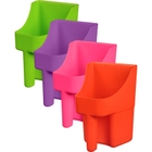 3 Quart Neon Plastic Scoop, Assorted Colors