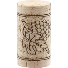 Twin Top® 1+1 Technical Wine Corks, Print, 44 x 23.5 mm, 1,000/pk