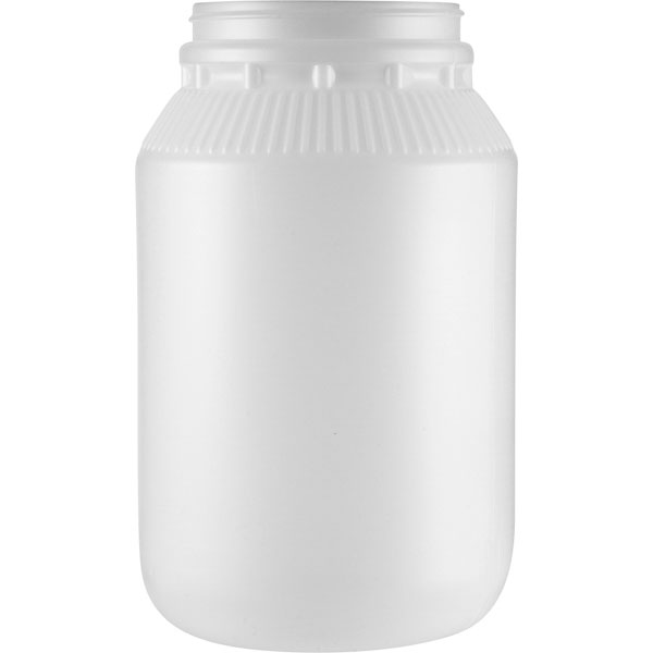 1 Gallon Natural Hdpe Plastic Wide Mouth Jar 110mm 110 400