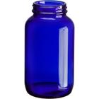 13.5 oz. (400 cc) Cobalt Blue Glass Packer Bottle, 53mm 53-400