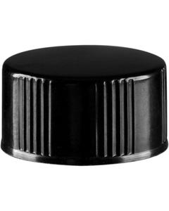 15mm 15-425 Black Phenolic Cap w/Poly Cone Insert (Taperseal)
