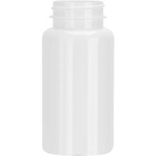 5 oz. (150 cc) White PET Plastic Packer Bottle, 38mm 38-400