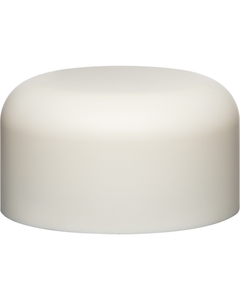 53mm 53-400 White Smooth Child Resistant Cap (Unprinted), Unlined