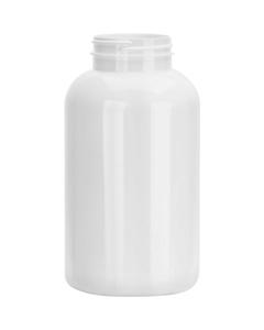 25 oz. (750 cc) White PET Plastic Packer Bottle, 53mm 53-400