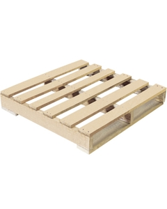 """30"""" x 30"""" Recycled Wood Pallet, 2-Way Fork Access, 1,200 lb. Capacity"""
