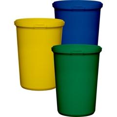 32 oz. PP Plastic Round Tamper Evident Container, 110mm
