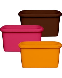 32 oz. (1 Liter) PP Square Tamper Evident Container, 145mm 145-TE