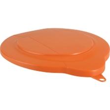 1.5 Gallon Orange PP Plastic Pail Lid