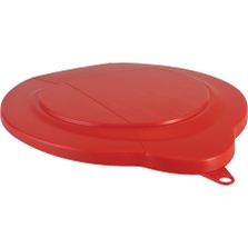 1.5 Gallon Red PP Plastic Pail Lid