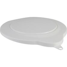 1.5 Gallon White PP Plastic Pail Lid