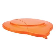 3 Gallon Orange PP Plastic Pail Lid
