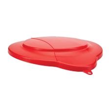3 Gallon Red PP Plastic Pail Lid