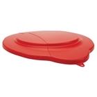 5 Gallon Red PP Plastic Pail Lid