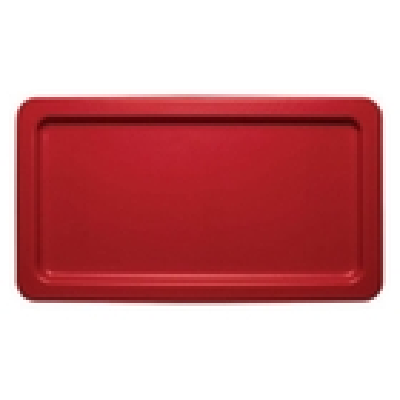 Red Plastic Lid for Transport Storage Tub