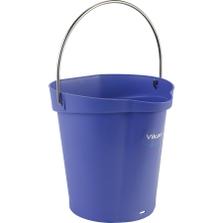 1.5 Gallon Purple Plastic Pail w/Spout, Stainless Steel Handle