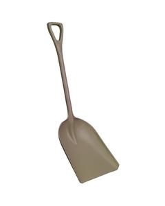 "Brown Hygienic Plastic Shovel, 14"" Blade (Tools)"