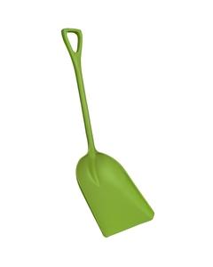 "Lime Green Hygienic Plastic Shovel, 14"" Blade (Tools)"