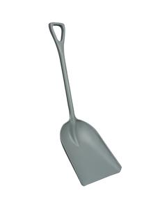 "Gray Hygienic Plastic Shovel, 14"" Blade (Tools)"