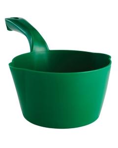 32 Oz. Green Plastic Round Scoop