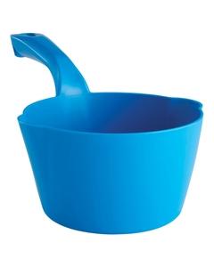 32 Oz. Blue Plastic Round Scoop