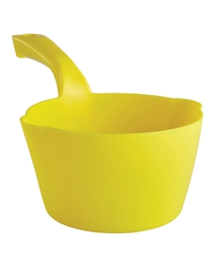 32 Oz. Yellow Plastic Round Scoop (Tools)