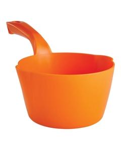 32 Oz. Orange Plastic Round Scoop (Tools)