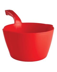 64 Oz. Red Plastic Round Scoop (Tools)