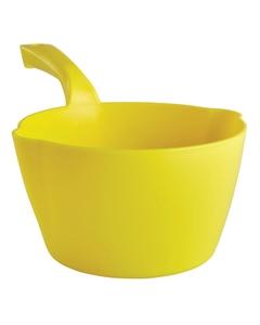 64 Oz. Yellow Plastic Round Scoop (Tools)