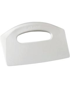 White Plastic Bench Scraper (Tools)