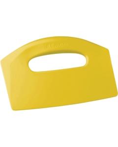 Yellow Plastic Bench Scraper (Tools)