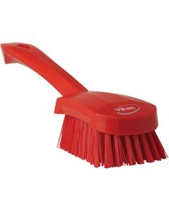 "Red Short-Handled Scrubbing Churn Brush, 9.8"" Length (Tools)"