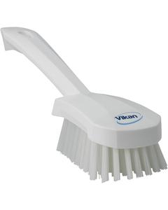 "White Short-Handled Scrubbing Churn Brush, 9.8"" Length (Tools)"