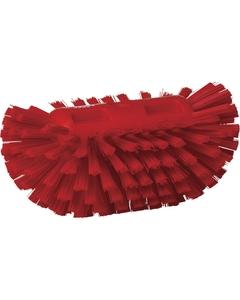 "Durable Red Stiff Tank Brush, 8.3"" Length (Tools)"