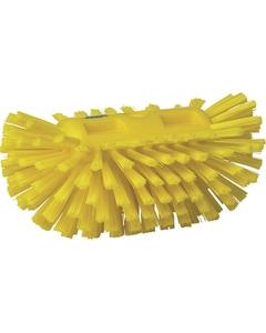 "Durable Yellow Stiff Tank Brush, 8.3"" Length (Tools)"
