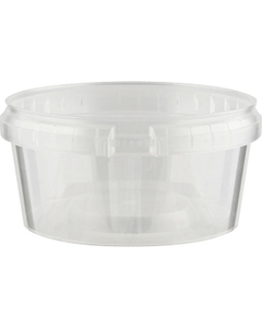 Superfos® 12 oz. Clear PP Plastic Safe Lock Tamper Evident Container