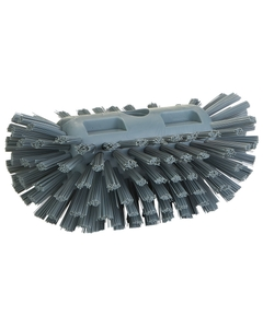 "Durable Gray Stiff Tank Brush, 8.3"" Length (Tools)"