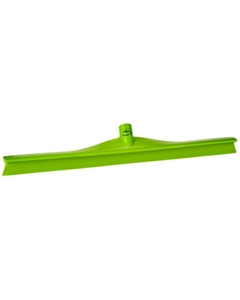 "24"" Lime Green Ultra Hygiene Squeegee, Single Blade"