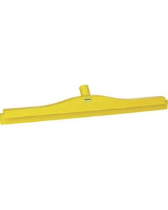 """24"""" Yellow Ultra Hygiene Squeegee, Double Blade"""