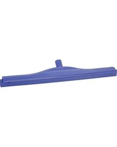 """24"""" Purple Ultra Hygiene Squeegee, Double Blade"""