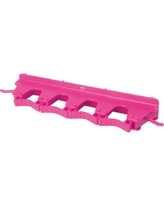 Pink Plastic Wall Bracket for 4-6 Tools