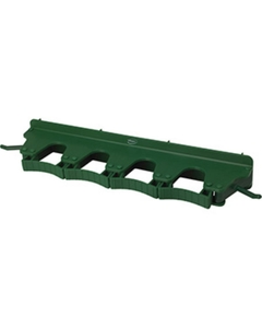 Green Plastic Wall Bracket for 4-6 Tools