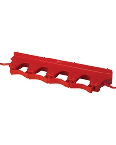 Red Plastic Wall Bracket for 4-6 Tools
