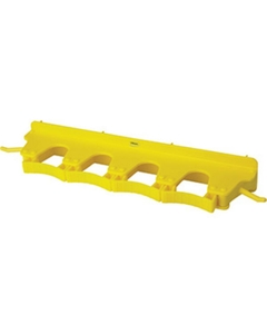 Yellow Plastic Wall Bracket for 4-6 Tools